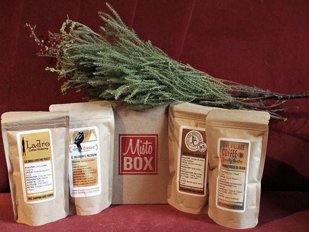 MistoBox: A Coffee Tasting Flight by Mail