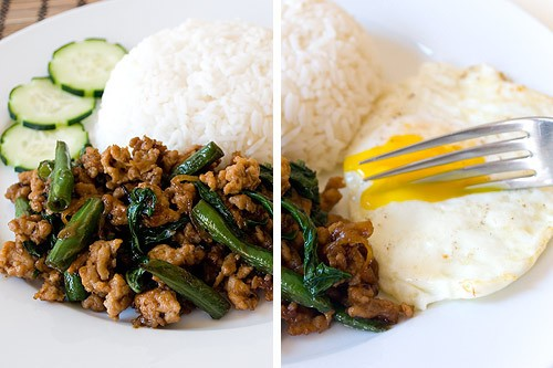 Eat for Eight Bucks: Gai Pad Krapow (Thai Basil Chicken) Recipe