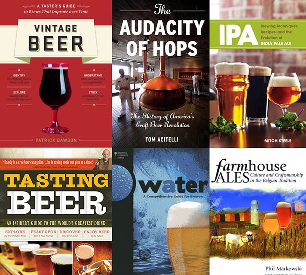 How to Build a Beer Book Library