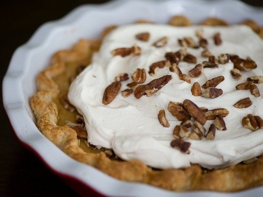 Thanksgiving Pie Countdown: Bourbon Pumpkin Pie