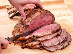 Perfect Prime Rib With Red Wine Jus Recipe