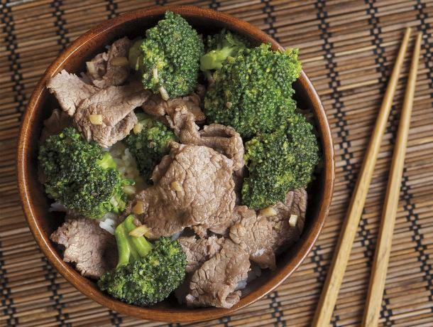 Beef with Broccoli from 'The Chinese Takeout Cookbook'