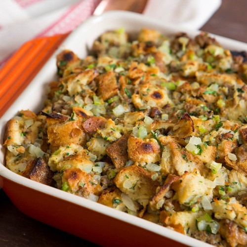 Thanksgiving Stuffing Recipes and Cooking Techniques