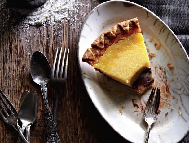 Bake the Book: Black Bottom Lemon Pie
