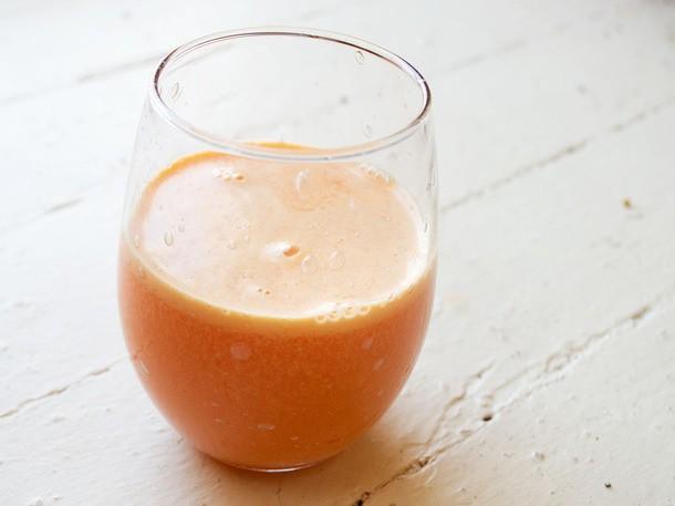 From the Juicer: Pineapple Parsnip Blood Orange Juice