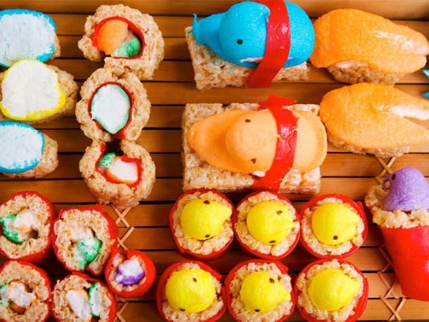 Weekend Baking Project: Peepshi (Peeps Sushi)
