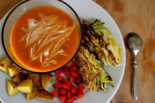 Eat for Eight Bucks: Sweet Potato Leek Soup Recipe