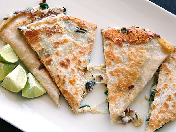 Ramp Week: Ramp and Chorizo Quesadillas