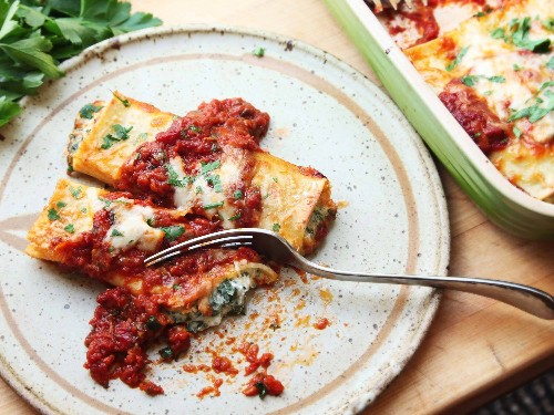 For the Best Spinach Manicotti, Skip the Manicotti (and Maybe the Spinach, Too)