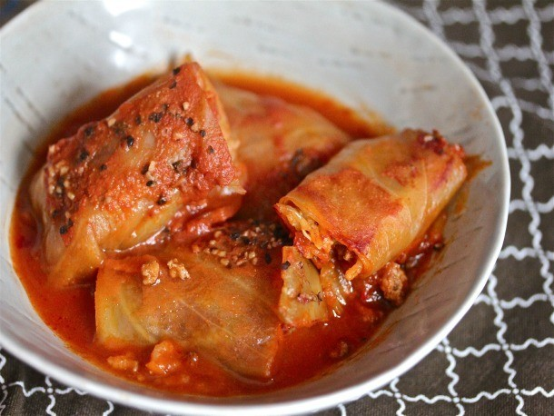 Smoky, Spicy Cabbage Rolls Recipe