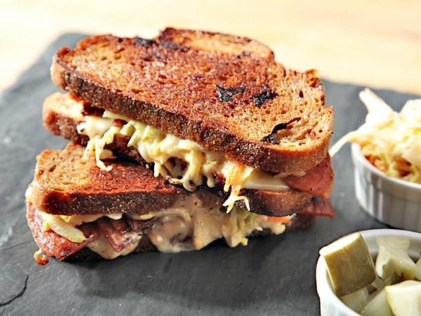 Pork Roll Rachel Sandwiches Recipe