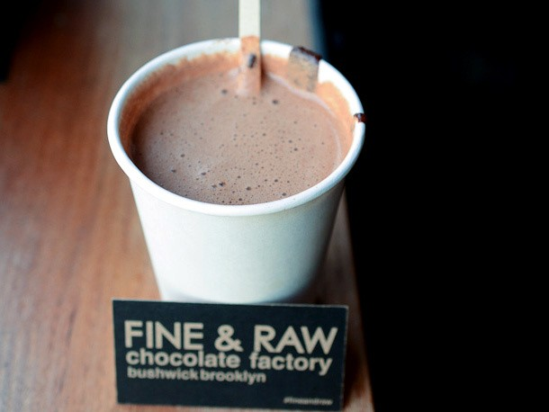 Straight From Madagascar: Hot Chocolate From Fine and Raw