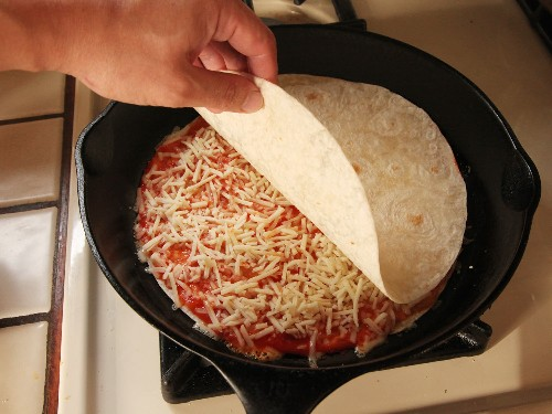 The Pizzadilla: This Is What Happens When a Quesadilla and a Pizza Make Sweet Love