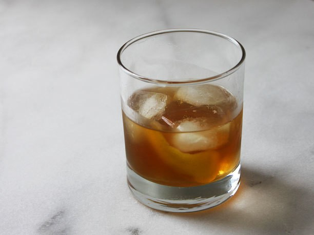 Apricot and Averna Bourbon Sour Recipe