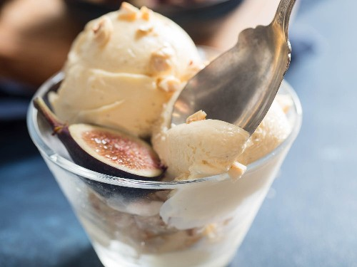 Hazelnut Mascarpone Ice Cream Recipe