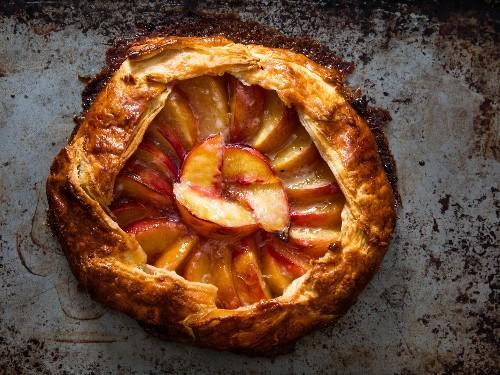 Freeform Peach Pie (Galette) Recipe
