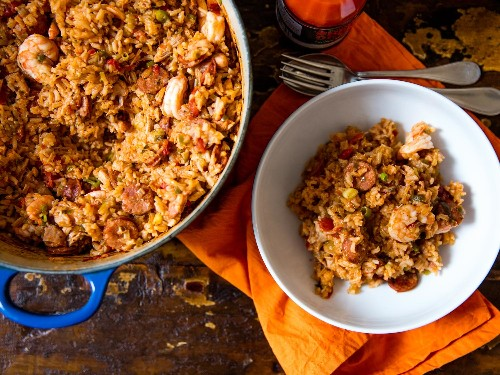 The Secret to Perfectly Cooked Jambalaya: Use Your Oven