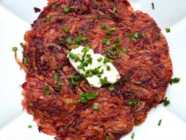 Beet and Potato Hash Recipe