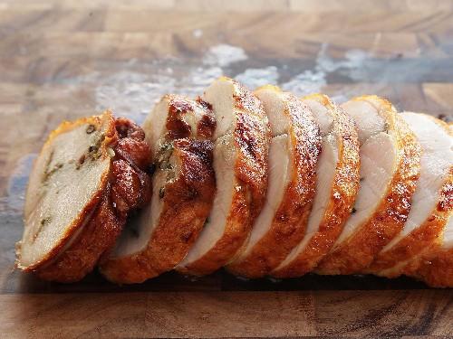 Deep-Fried Sous Vide Turkey Porchetta (Turchetta) Recipe