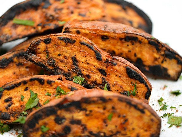 Grilling: Sweet Potato Wedges