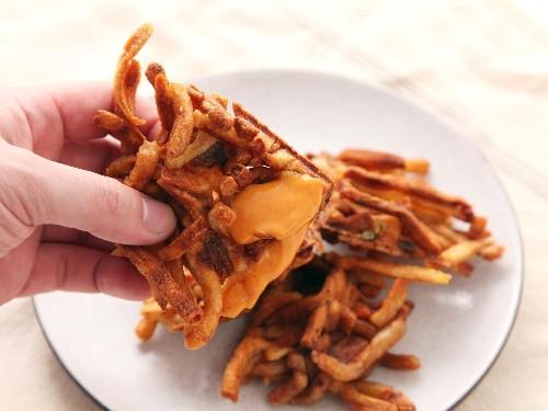 French Fry Waffles Recipe
