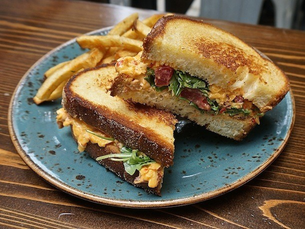 A Sandwich a Day: Pimento Grilled Cheese at Little Market Brasserie