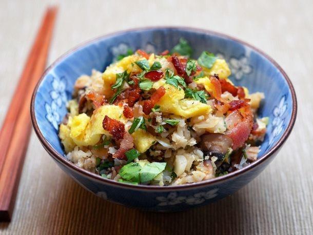 "Asian Cauliflower Fried ""Rice"" From 'Nom Nom Paleo'"