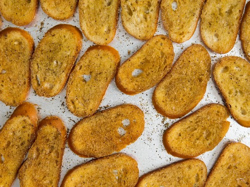 These Toasted Baguette Croutons Are Better Than Most Crackers