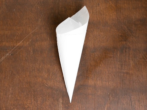 Fun With Chocolate: How to Make a Cornet (Paper Cone) for Cake Decorating