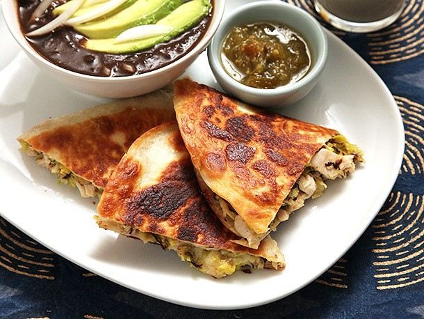 Easy Turkey and Brussels Sprout Quesadillas Recipe
