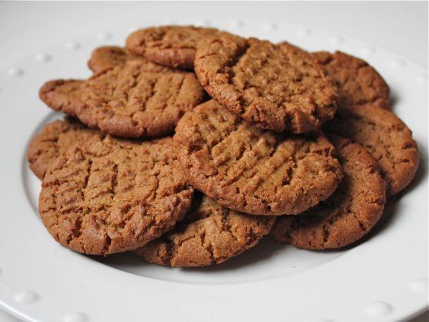 Gluten-Free Flourless Peanut Butter Cookies Recipe