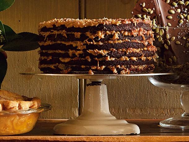 Bake the Book: German Chocolate Cake