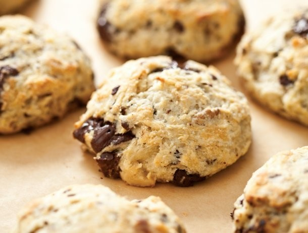 Bake the Book: Chocolate and Walnut Scones