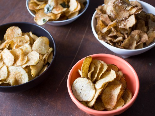 Game Day Snacks: 4 Awesome Homemade Potato Chip Flavors