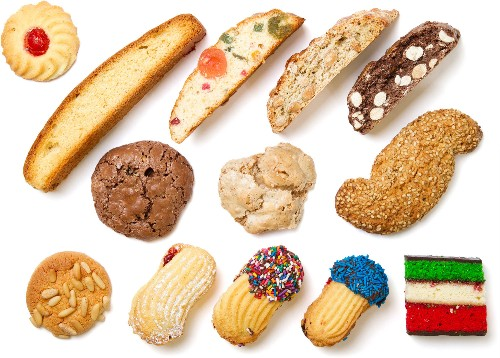 A Closer Look at Your Italian Bakery's Cookie Case