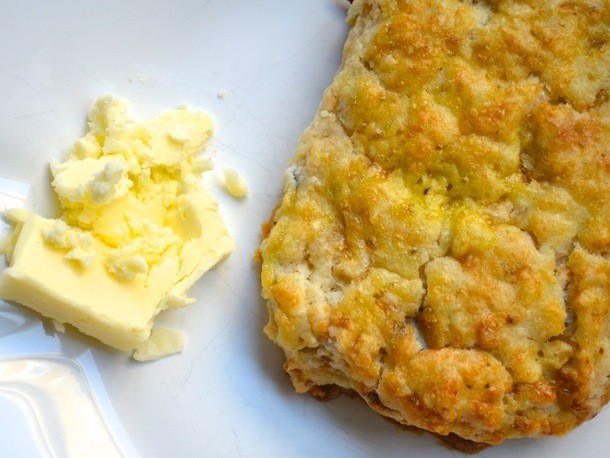 Sunday Brunch: Caramelized Onion and Blue Cheese Scones