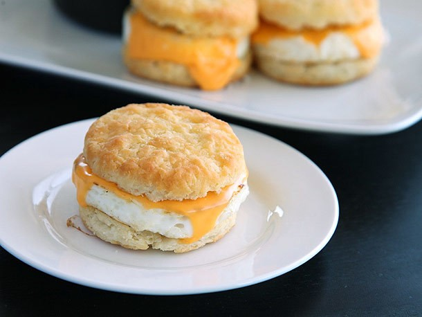 Got Extra Popeye's Biscuits? Save'em For Breakfast Sandwiches