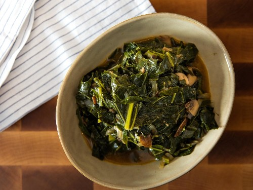 How to Make Rich and Smoky Collard Greens, With or Without Meat