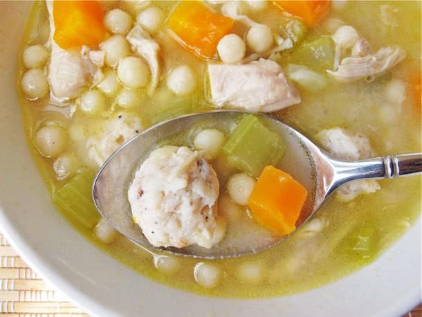 Homemade Chickarina Soup Recipe