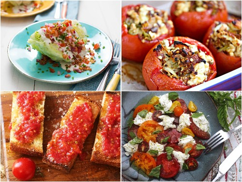 24 Recipes Starring Fresh, Ripe Summer Tomatoes