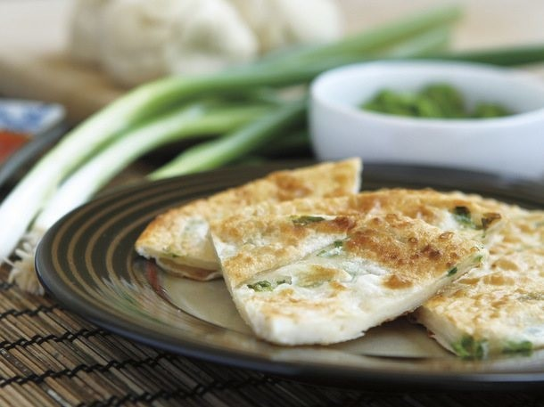 Scallion Pancakes from 'The Chinese Takeout Cookbook'