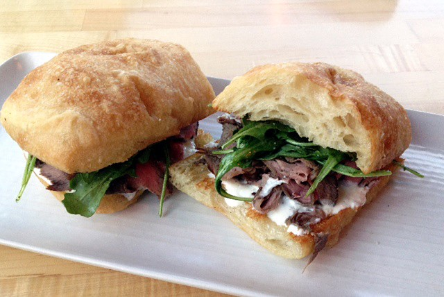 A Sandwich a Day: Shaved Beef Sandwich at Épicerie in Austin, Texas