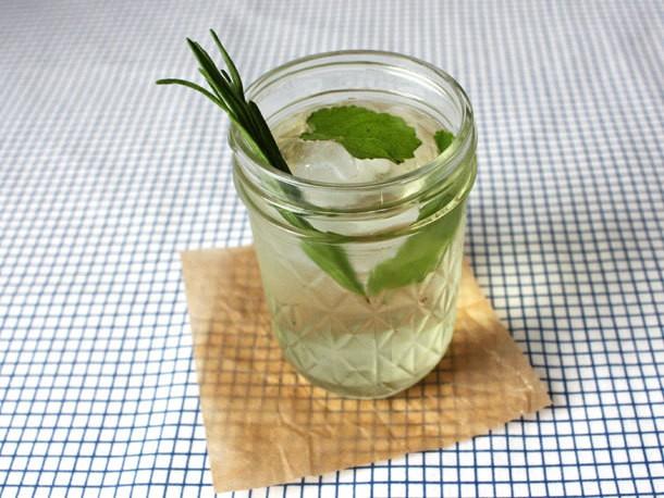 Lemon Balm Lavender Tisane Recipe