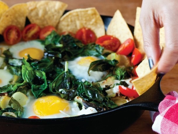 Breakfast Nachos Skillet from 'Ultimate Nachos'