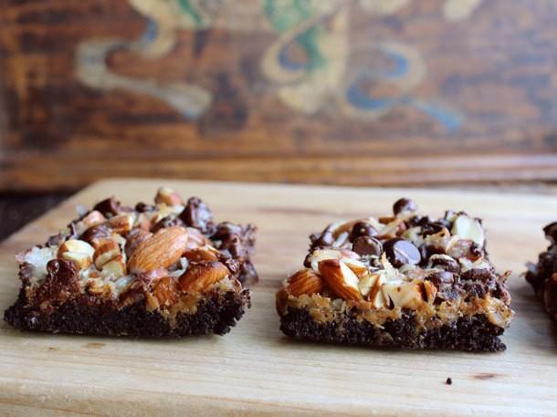 Chocoholic: Double Chocolate Magic Bars