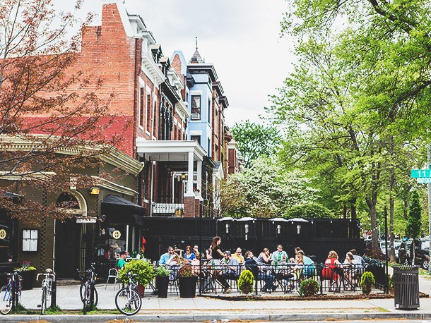 Where to Eat Outdoors in Washington, DC, 2014 Edition