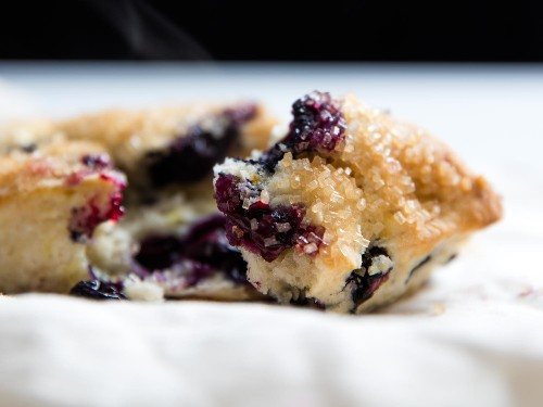Accidentally Vegan: Fresh and Light Lemon-Blueberry Scones