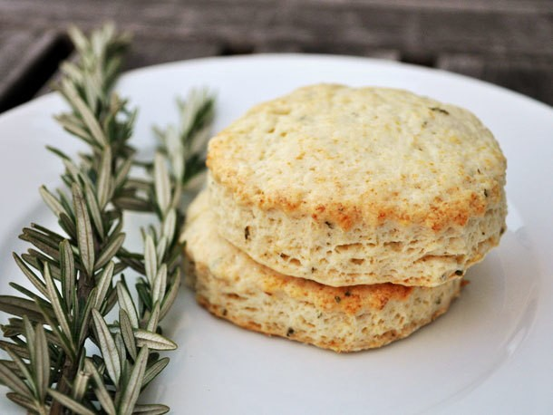 Lemon Rosemary Scones Recipe