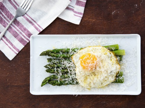 Three Variations on Asparagus alla Milanese