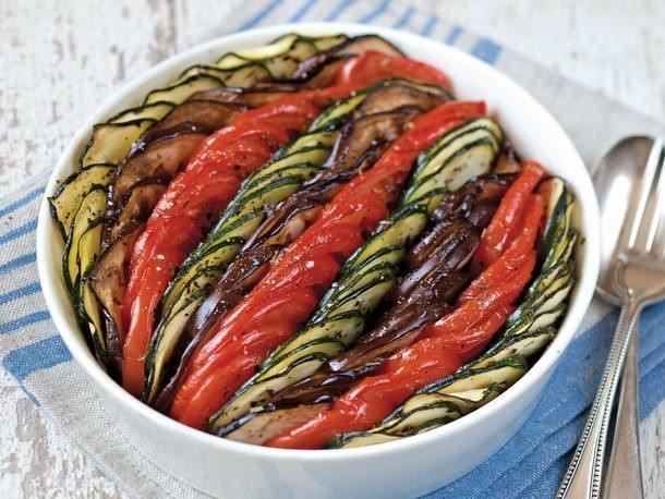 Ratatouille Tian from 'The French Market Cookbook'